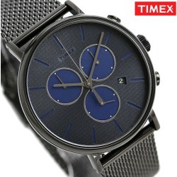 Timex Fairfield men watch TW2R98000 TIMEX clock gray