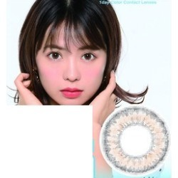 """It is MaxColor1Day ナチュレルシリーズ on the """"max color one D (MaxColor1Day) ナチュレルシリーズ ten pieces ティアーズブラウン / air re- brown"""" / degreeless contact lens max color one day which there is a daily disposable degree in (discount impossibility)"""