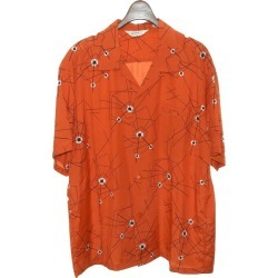 "STAR OF HOLLYWOOD ""ATOMIC SPIDER WEB"" spider Web shirt red size: XL (star of Hollywood)"