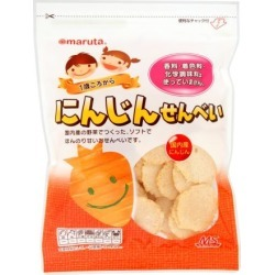 MS carrot rice cracker one piece of article [cancellation, change, returned goods impossibility]