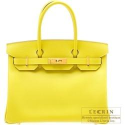 Hermes Birkin bag 30 Lime Epsom leather Gold hardware found on Bargain Bro India from Rakuten Global for $20894.00