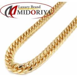 43.6 grams of Kihei necklace K18YG six double 40cm 18-karat gold yellow gold Kihei chain necklace /72299
