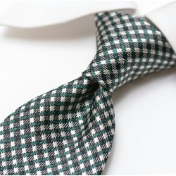 Men silk check green black green / Italy brand gift ITALY made in TOM FORD Tom Ford tie Italy found on Bargain Bro Philippines from Rakuten Global for $152.00