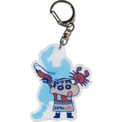 To key ring acrylic key ring crayon しんちゃんご here Hokuriku Small planet in bound souvenir animation mail order 10/29