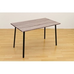 It includes the dining table / living table steel frame woodgraining SIMPLE dark brown postage!