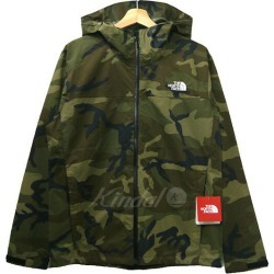 THE NORTH FACE NOVELTY VENTURE JACKET mountain parka NP61515 camouflage size: L (the North Face)