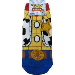 To socks Toy Story 4 Woody costume Disney Small planet 23-25cm petit gift mail order 10/29 for the lady's socks woman