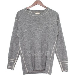 BUTCHER PRODUCTS crew neck Longus Reeves wet-cut so gray size: 38 (Butcher...