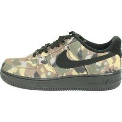 Nike /NIKE air force 1 sneakers (27.5cm/ black X khaki key) bb10#rinkan*A