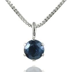 Sapphire Sapphire K18wg Sapphire Necklace