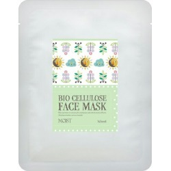 RITZ made in biocelluloce face mask MOIST (bullet moisture system) 20 pieces set Japan