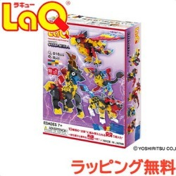 Cognitive education toy puzzle block laq with \ point 16 times /laq ラキューミスティカルビースト LaQ ラキューミスティカルビーストキメラパーツ storage case
