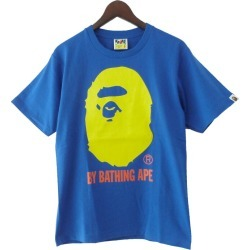 """A BATHING APE """"COLORS BY BATHTING TEE"""" graphic T-shirt"""