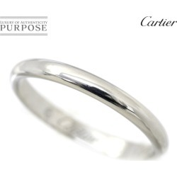 Cartier Cartier 1895 classical music #54 ring Pt950 2.5mm in width platinum ring