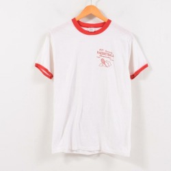 Men S vintage /wbc6382 in the 70s made in STEDMAN Sport-T ringer T-shirt USA