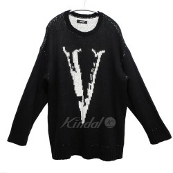 UNDER COVER 19SS JQBIG knit V black size: 2 (under cover)