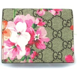 Antique Rose floral design 410088/29262 with the GUCCI Gucci card case GG ブルームススプリームキャンバス billfold found on Bargain Bro India from Rakuten Global for $292.00