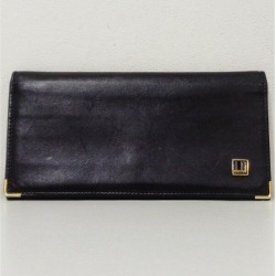 Dunhill leather black wallet long wallet men ★★ found on Bargain Bro India from Rakuten Global for $94.00