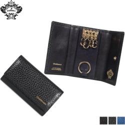 Four オロビアンコ Orobianco key case key ring men genuine leather KEY CASE men black navy-blue black ORS-021408 [9/24 Shinnyu load]