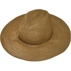 comes and goes straw hat beige (cams and gauze)