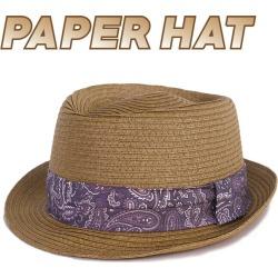 Hat Jay 159 Straw Hat Straw Hat Straw Hat Bandana Pattern Resort Style