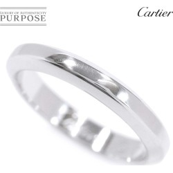 Cartier Cartier デクラレーションリング #47 PT950 platinum ring
