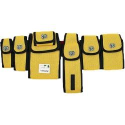 UNDER COVER X FULL-BK under cover X full B Kay WAIST BAG six bum-bag yellow