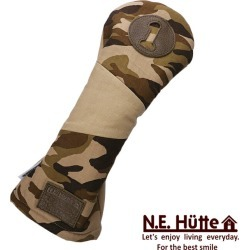 N.E. Head cover Camouflage Head Cover for the hut N.E.Hutte camouflage series driver