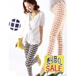 Lovely Checked Design Skinny Pants Maternity Pants. Up To found on Bargain Bro India from Rakuten Global for $45.00