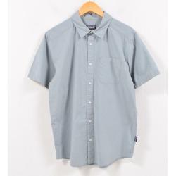 Patagonia Patagonia ORGANIC COTTON organic cotton short sleeves cotton shirt men M /wbd9585 made in 11 years