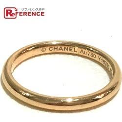 CHANEL Chanel K18 ring John Parisian jewelry ring, ring K18YG 7 yellow gold Lady's