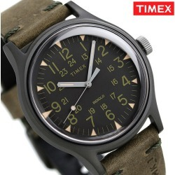 Timex MK1 steel men watch TW2R97000 TIMEX clock black X olive
