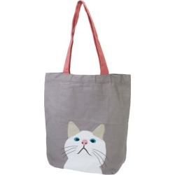 To Tokyo wasabi town tote bag terChan gray cat FRIENDSHILL 39*38*10cm brief case mail order 10/29 where A4 casual Thoth Shibata lives in