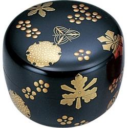 It is 雪華蒔絵内銀地呉藤穣太郎 to tea service set jujube (jujube) Ohira jujube plum