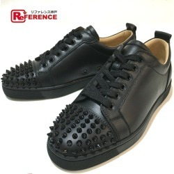 Christian Louboutin クリスチャンルブタン 1130573 men's shoes shoes spikes studs apparel sneakers leather black men mint condition