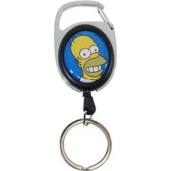 To key ring Simpson's merge & home run The Simpsons Nakajima Corporation lengthening key ring gift miscellaneous goods mail order 10/11 with the meta reel reel