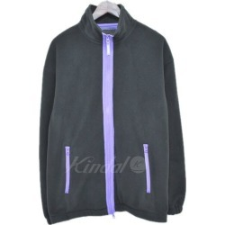 BEAMS fleece jacket black purple size: M (BEAMS Co, Ltd.)