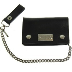 INDIAN MOTORCYCLE long wallet black size: - Indian MOTORCYCLE