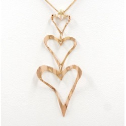 K14 14-karat gold YG yellow gold PG necklace metal used jewelry ★★ giftwrapping for free