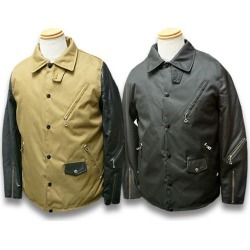 "All two colors of 2019AW ""Coach Riders Jacket/ coach riders jackets"" (VTJ2) (American casual / Harley / bikie / motorcycle / hot rod / secular variation)"