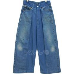 HURRAY HURRAY-Composition wide denim 501 rebuilding remake denim underwear indigo size: 1 (rah-rah rah-rah composition)