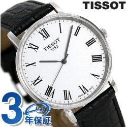 T-classical music every thyme medium 38mm men's T109 .410.16.033.01 TISSOT clock in Tissot arm in total