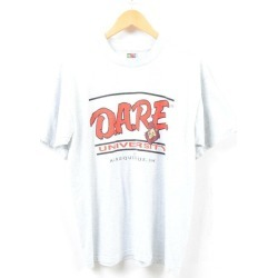 Fruit of the Loom FRUIT OF THE LOOM DARE UNIVERSITY college T-shirt men L /wbd5457