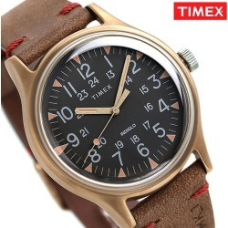 Timex MK1 steel men watch TW2R96700 TIMEX clock black X brown