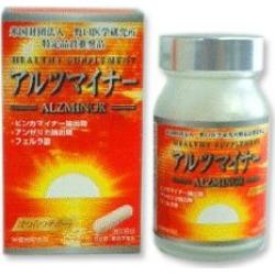 サプリサプリメントアルツマイナー 60 capsule Noguchi medicine research institute