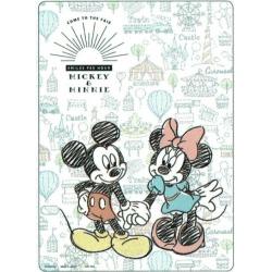 Disney Mickey & ミニーグッズ desk pad character Pare
