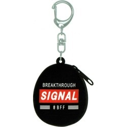 Fancy miscellaneous goods silicon petit case key ring SIGNAL 323604