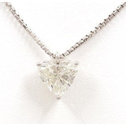 PT900 platinum PT850 necklace diamond 2.172 SI2 appraisal used jewelry ★★ giftwrapping for free