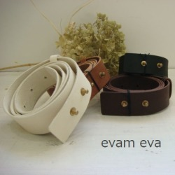 Compatible Products Evam Eva Leather Belt