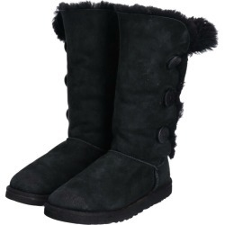 アグ UGG BAILEY BUTTON TRIPLET mouton boots US8 Lady's 25.0cm /boq2519